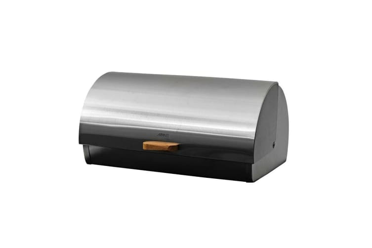 Avanti 39cm Roll Top Stainless Steel Bread Pastries Bin Container Storage w Lid