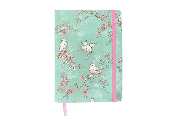 Something Different Rustic Romance Notebook (Green) (A6)