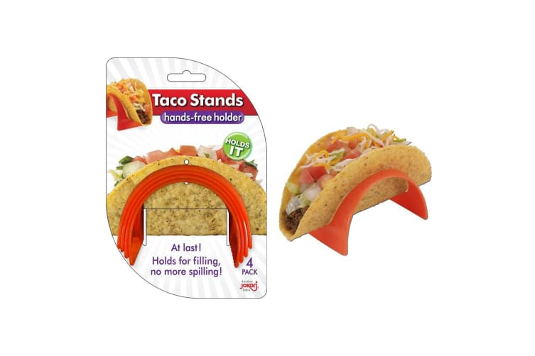 Jokari Set Of 4 Taco Holder Stands Tacos Rack Corn Server
