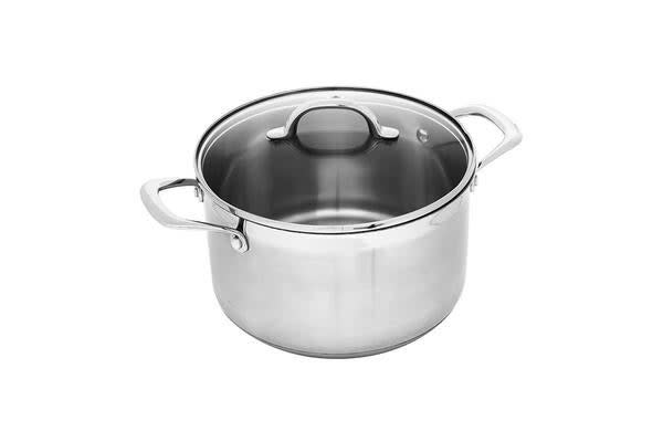 Swiss Diamond Premium Steel Induction Stockpot 7.5L