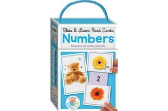 Building Blocks Slide & Learn Flashcards Numbers (UK Eng)