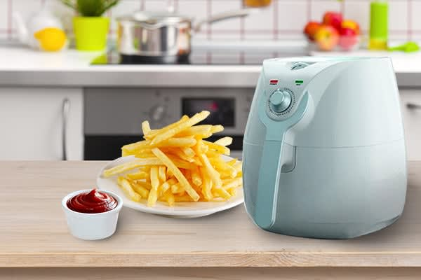 Kitchen Couture 3.4L Low Fat 1400W Air Fryer (White)