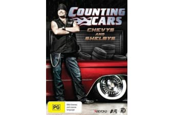 Counting Cars - Chevys And Shelbys - Series Rare- Aus Stock DVD PREOWNED: DISC LIKE NEW