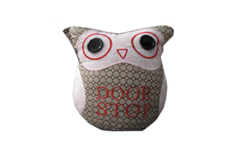 Owl Shape Door Stopper Brown by Choice