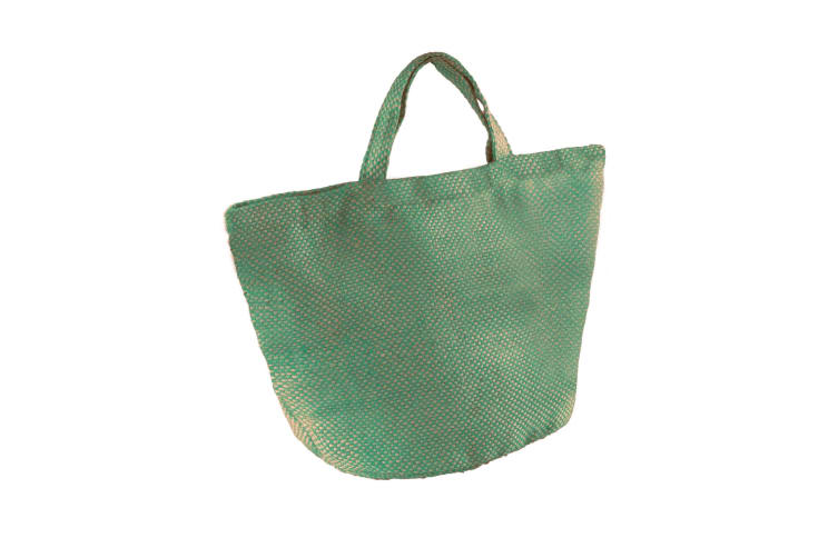 Kimood Womens/Ladies Fashion Jute Bag (Natural/Water Green) (One Size)