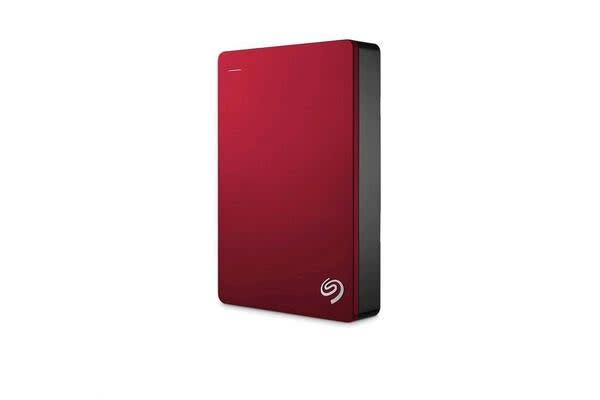Seagate 4TB Backup Plus Portable - Red