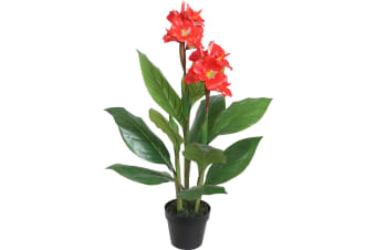 Artificial Potted Canna Lily 90cm
