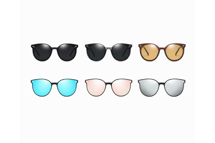 Polarized Sunglasses Women And Men Vintage Round Shades - 3