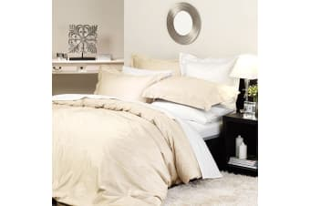 600TC Supima Ivory Quilt Cover Set by Private Collection