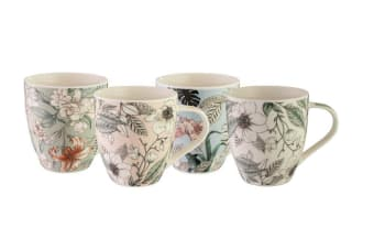 Bundanoon Mega Mug 518ml Set of 4 Paradise