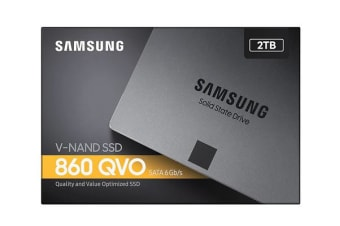 Samsung 860 QVO 2TB,V-NAND, 2.5'. 7mm, SATA III 6GB/s, R/W(Max) 550MB/s/520MB/s, up to 1,440TBW, 3 Years Warranty