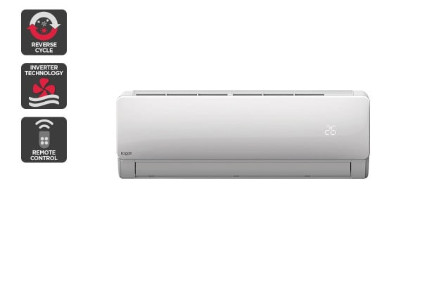 Kogan 5.2kW Split System Inverter Air Conditioner (18,000 BTU, Reverse Cycle) with BONUS Standard Installation
