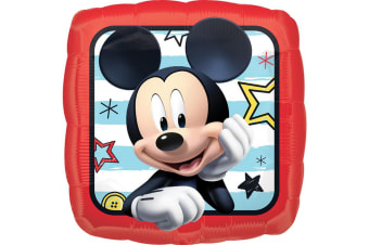 Anagram 18 Inch Mickey Roadster Racers Square Foil Balloon (Multicoloured) (One Size)