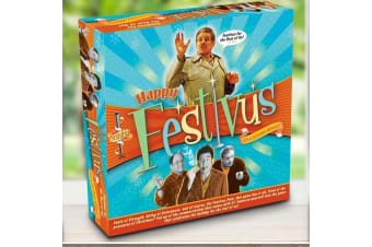 Happy Festivus! The Seinfeld Game | board card dice party