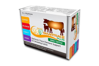 Agrimin 24-7 Smart Trace Plus Boluses For Cattle (Box Of 10) (Multicoloured) (One Size)