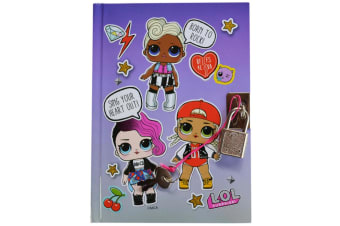 LoL Surprise Born to Rock Lockable Notebook