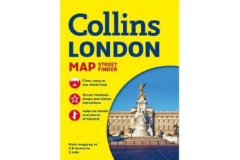 Collins London Streetfinder Map