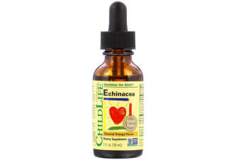 ChildLife Essentials Echinacea Organic Root Extract Nutrition for Kids Natural Orange Flavour 30ml