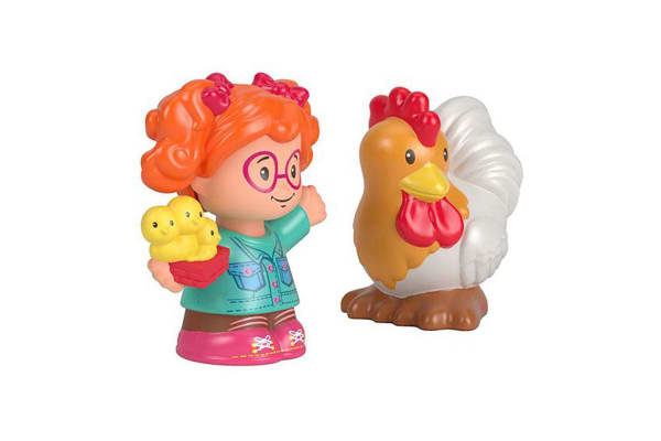 Fisher Price Little People Sofie and Rooster