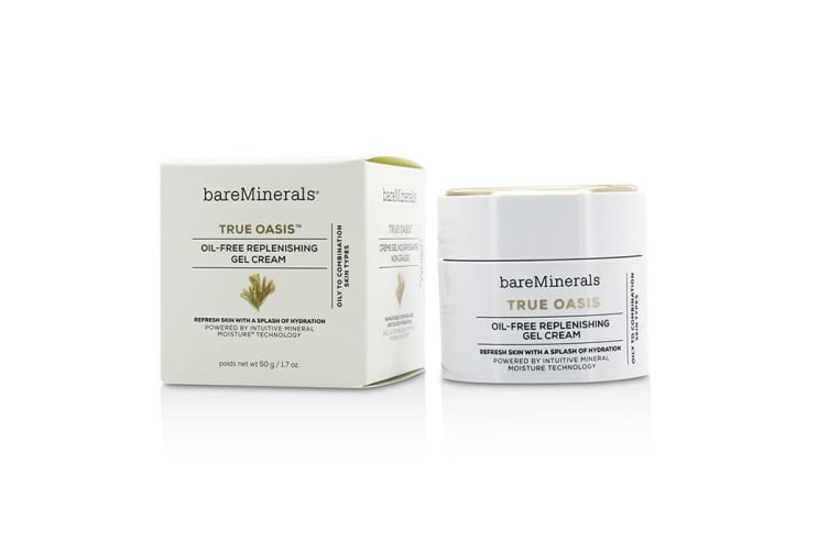 BareMinerals True Oasis Oil-Free Replenishing Gel Cream - Oily To Combination Types 50g