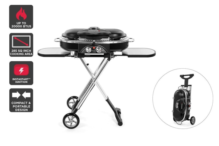Cookmaster Portable LPG Twin Grill BBQ