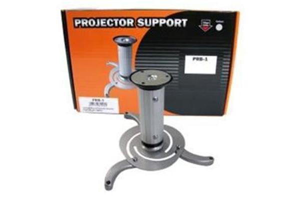 BRATECK Projector Bracket Ceiling Mount. Pipe Length 150mm 360 deg Swivel