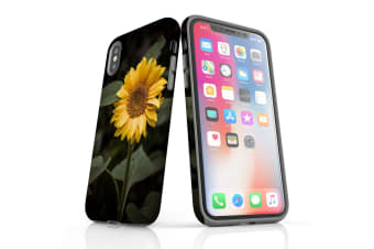 For iPhone XS Case  Protective Back Cover  Yellow Sunflower