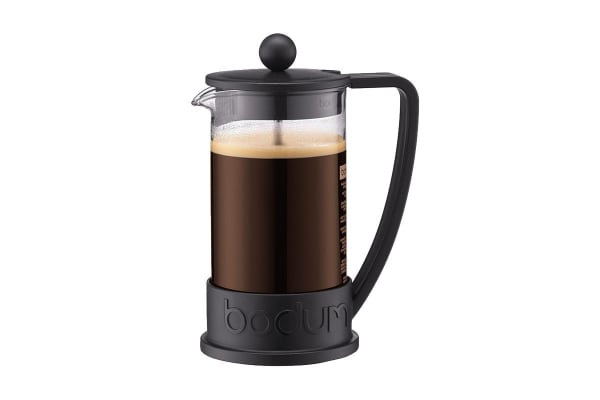 Bodum Brazil French Press Coffee Maker - Black, 3 Cup, 0.35 L, 12 oz (10948-01)