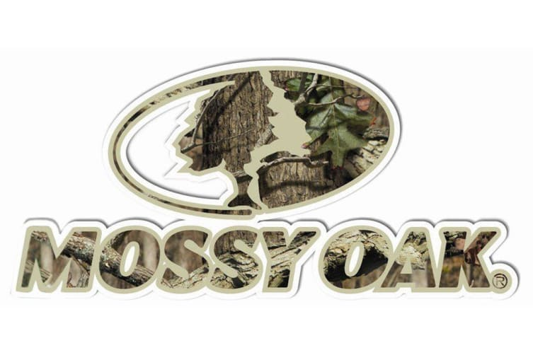 Mossy Oak Peel Sticker 'live To Bow Hunt'