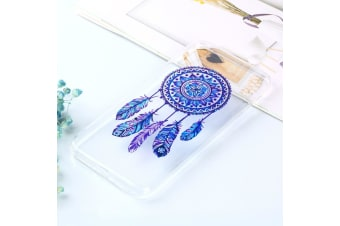 For iPhone XS Max Cover Varnish Painting Soft Thin Case Windbell Transparent