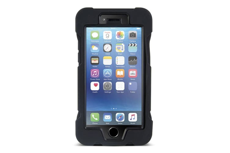 Gecko Black Rugged Case For iPhone 6 Plus/6s Plus