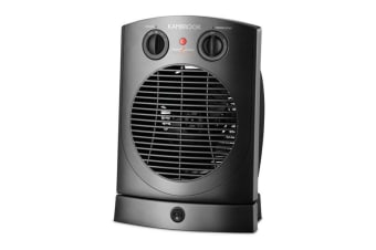 Kambrook 2400W Oscillating Upright Fan Heater (KFG660)