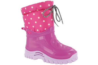 Mirak Flurry Childrens Warmlined Boot / Girls Boots (Pink) (28 EUR)