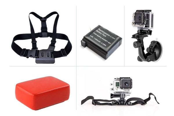 Ultimate Accessory Kit - Compatible with GoPro HERO4