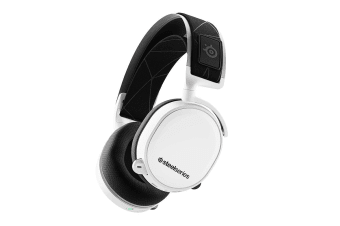 SteelSeries Arctis 7 Wireless Gaming Headset (2019 Edition, White)