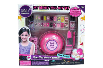 Toy Cosmetics My Beauty Nail Art Set with Dryer
