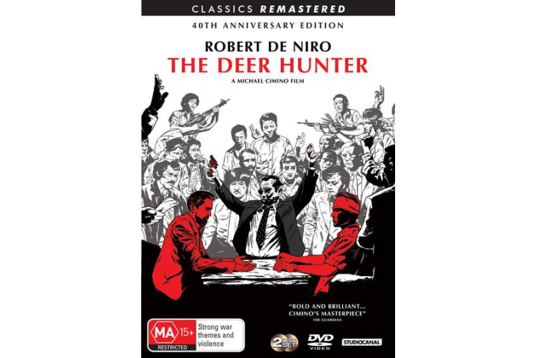 The Deer Hunter 40th Anniversary Edition DVD Region 4