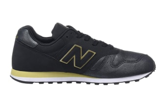 New Balance Women's 373 Shoe (Black, Size 8)