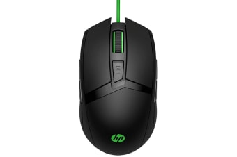 HP Pavilion Gaming Mouse 300 - Optical - Cable - Black