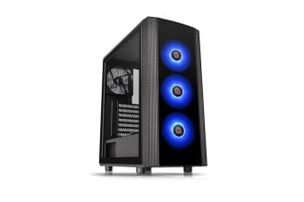 Thermaltake Versa J25 Tempered Glass Rgb Edition Mid Tower Chassis
