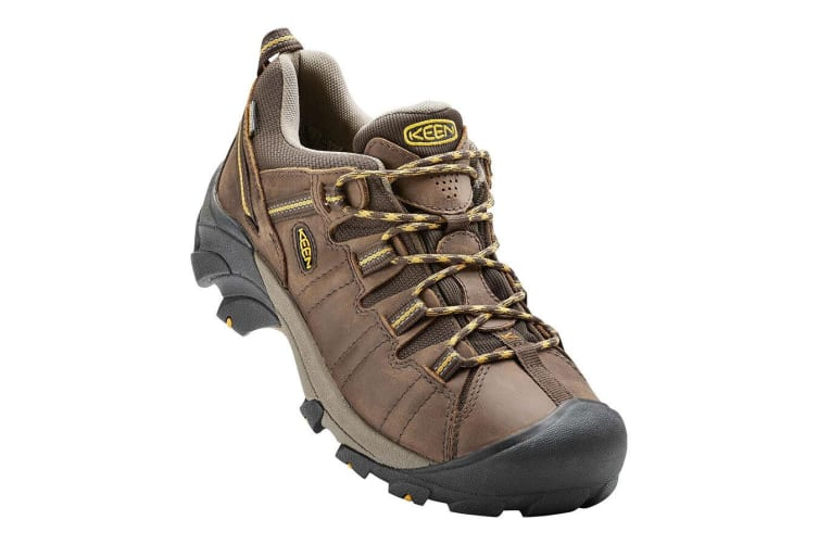 Keen Targhee II Waterproof Mens - Cascade Brown Golden Yellow - 7