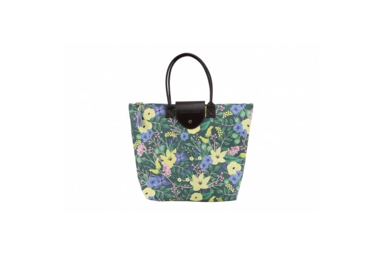 Painted & Pressed Handbag (Green) (One Size)