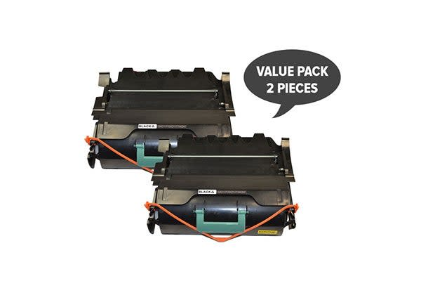 T650 Premium Generic Toner Cartridge (Two Pack)