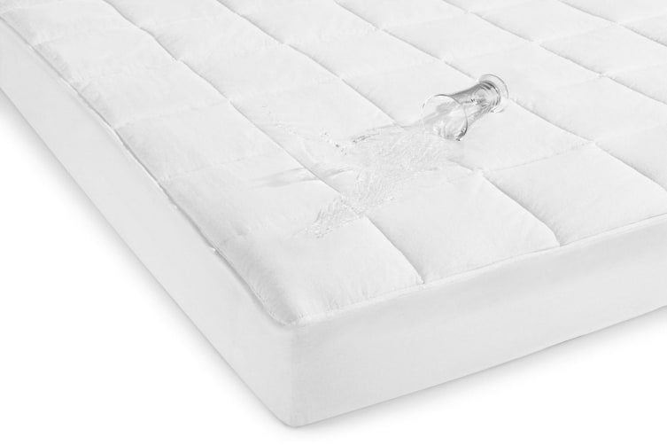 Ovela Waterproof Fitted Cotton Mattress Protector (Double)
