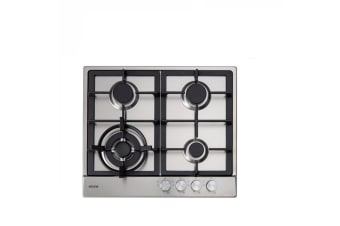 Euro Cooktop (Gas) 600mm Stainless Steel ECT60WCX