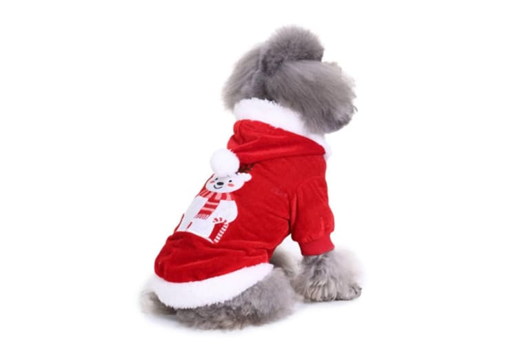 Christmas Pet Costumes.Dog Costumes Holiday Halloween Christmas Pet Clothes Soft Comfortable Dog Clothes Xl