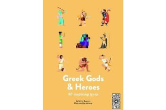 Greek Gods and Heroes - Meet 40 mythical immortals