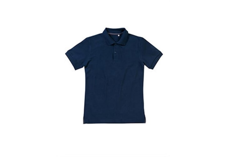 Stedman Mens Henry Cotton Polo (Blue) (XL)