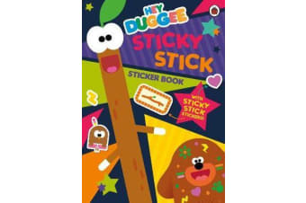 Hey Duggee: Sticky Stick Sticker Book - Activity Book