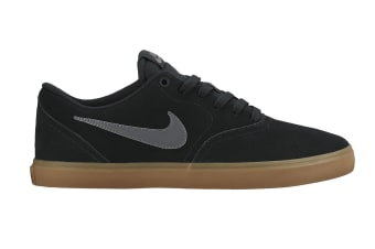 Nike SB Check Solarsoft Men's Skateboarding Shoe (Black/Anthracite/Brown, Size 11)